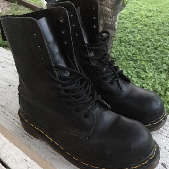 Dr. Martens Shoes - Black Doc Martens 1919 10 Eye Boots Women s 7 UK 5 6c346bd4f3